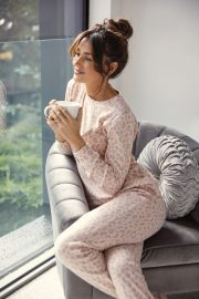 Michelle Keegan for New Loungewear Collection Photos 2020 2