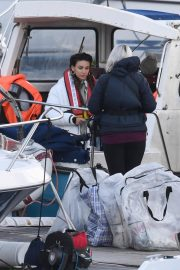 Michelle Keegan on the Set of Brassic TV Series in Wales 2020/11/23 1