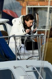 Michelle Keegan on the Set of Brassic TV Series in Wales 2020/11/23 4