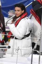Michelle Keegan on the Set of Brassic TV Series in Wales 2020/11/23 6
