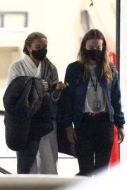 Olivia Wilde and Florence Pugh on the Set of Don't Worry Darling in Los Angeles 11/25/2020 1
