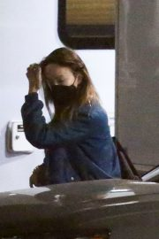 Olivia Wilde and Florence Pugh on the Set of Don't Worry Darling in Los Angeles 11/25/2020 3