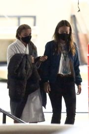 Olivia Wilde and Florence Pugh on the Set of Don't Worry Darling in Los Angeles 11/25/2020 7