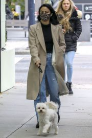 Out with Her Dog in Vancouver 2020/10/27 4