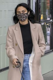 Out with Her Dog in Vancouver 2020/10/27 5