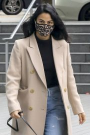 Out with Her Dog in Vancouver 2020/10/27 7