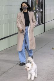 Out with Her Dog in Vancouver 2020/10/27 8
