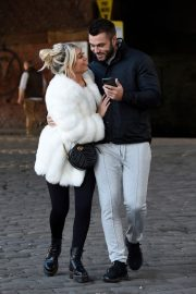Paige Turley and Finn Tapp Out in Manchester 2020/11/13 3