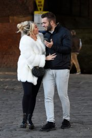Paige Turley and Finn Tapp Out in Manchester 2020/11/13 5