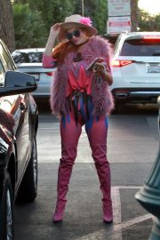 Phoebe Price in Pinky Pinky Outfit Out in Los Angeles 2020/11/16 5