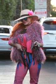 Phoebe Price in Pinky Pinky Outfit Out in Los Angeles 2020/11/16 9