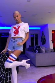 Princess Pia Mia in Playboy Short Top with Shorts - Instagram Photos 2020/11/16 1