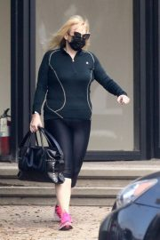 Rebel Wilson Leaves a Gym in West Hollywood 2020/10/22 6