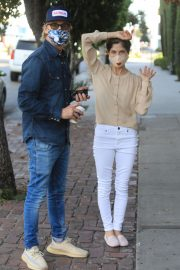Selma Blair and David Lyons Out for Coffee in Los Angeles 2020/11/21 1