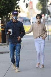 Selma Blair and David Lyons Out for Coffee in Los Angeles 2020/11/21 7
