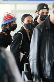 Solange Knowles at LAX Airport in Los Angeles 2020/11/22 1
