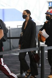 Solange Knowles at LAX Airport in Los Angeles 2020/11/22 2