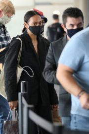 Solange Knowles at LAX Airport in Los Angeles 2020/11/22 4
