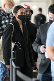 Solange Knowles at LAX Airport in Los Angeles 2020/11/22 5