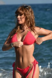 Summer Monteys Fullam in Pink Bikini at a Beach in Cyprus 10/15/2020 6