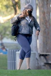 Tyra Banks Out at a Park in Los Angeles 11/24/2020 1