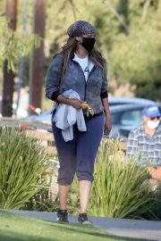 Tyra Banks Out at a Park in Los Angeles 11/24/2020 2