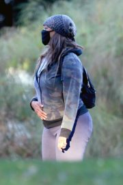 Tyra Banks Out at a Park in Los Angeles 11/24/2020 4