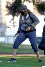 Tyra Banks Out at a Park in Los Angeles 11/24/2020 7