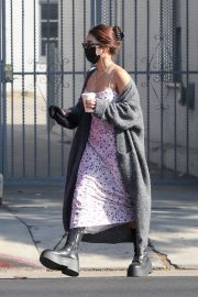 Vanessa Hudgens and GG Magree Out for Coffee in Los Feliz 2020/11/21 5