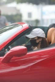 Vanessa Hudgens Drives Her Ferrari Out in West Hollywood 2020/11/23 1