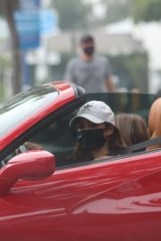 Vanessa Hudgens Drives Her Ferrari Out in West Hollywood 2020/11/23 4