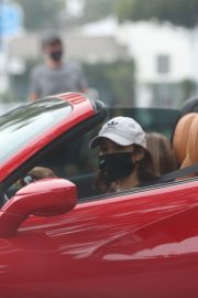 Vanessa Hudgens Drives Her Ferrari Out in West Hollywood 2020/11/23 5