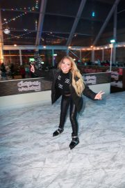 Aisleyne Horgan-Wallace at Lakeside Skating Ring Press Night 12/04/2020 2