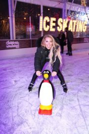 Aisleyne Horgan-Wallace at Lakeside Skating Ring Press Night 12/04/2020 5