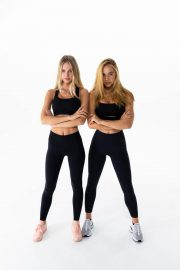 Alexis Ren and Oriana Sabatini Photoshoot for Warrior Fitness Program 2020 6