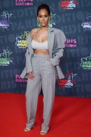 Amel Bent at 2020 NRJ Music Awards in Paris 12/05/2020 1