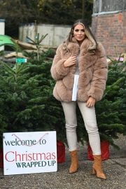 Amy Childs on the Set of The Only Way is Essex Christmas Special in London 11/30/2020 1