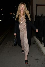 Amy Hart seen in Stylish Shinning Dress Night Out in London 12/05/2020 3