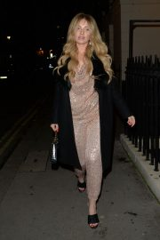 Amy Hart seen in Stylish Shinning Dress Night Out in London 12/05/2020 5