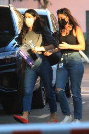 Ashley Greene with Her Friend After Leaves a Studio in Hollywood 12/03/2020 3