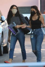 Ashley Greene with Her Friend After Leaves a Studio in Hollywood 12/03/2020 5
