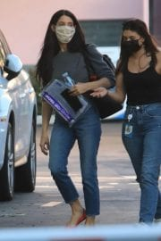 Ashley Greene with Her Friend After Leaves a Studio in Hollywood 12/03/2020 6