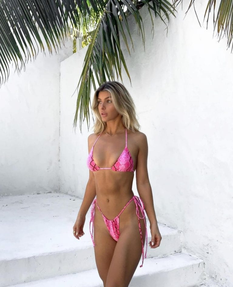 Ashley Marie Dickerson in Pink Bikini - Instagram Photos 11/30/2020 1
