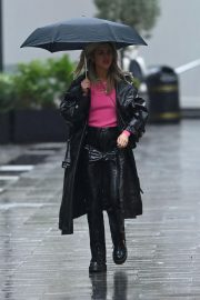 Ashley Roberts after Leaves Global Studios in London 12/03/2020 9