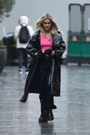 Ashley Roberts after Leaves Global Studios in London 12/03/2020 10