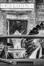 Cara Delevingne Black and White Photoshoot On the Road Again, 2020 4