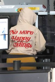 Cardi B seen in Full Face Mask at LAX Airport in Los Angeles 11/24/2020 5