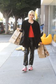 Charlene Laurent Out for Thanksgiving Shopping in Hollywood 11/25/2020 2