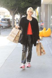 Charlene Laurent Out for Thanksgiving Shopping in Hollywood 11/25/2020 3