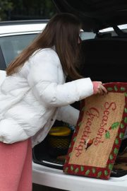 Chloe Ross Out Shopping at Chigwell Garden Centre 11/25/2020 1